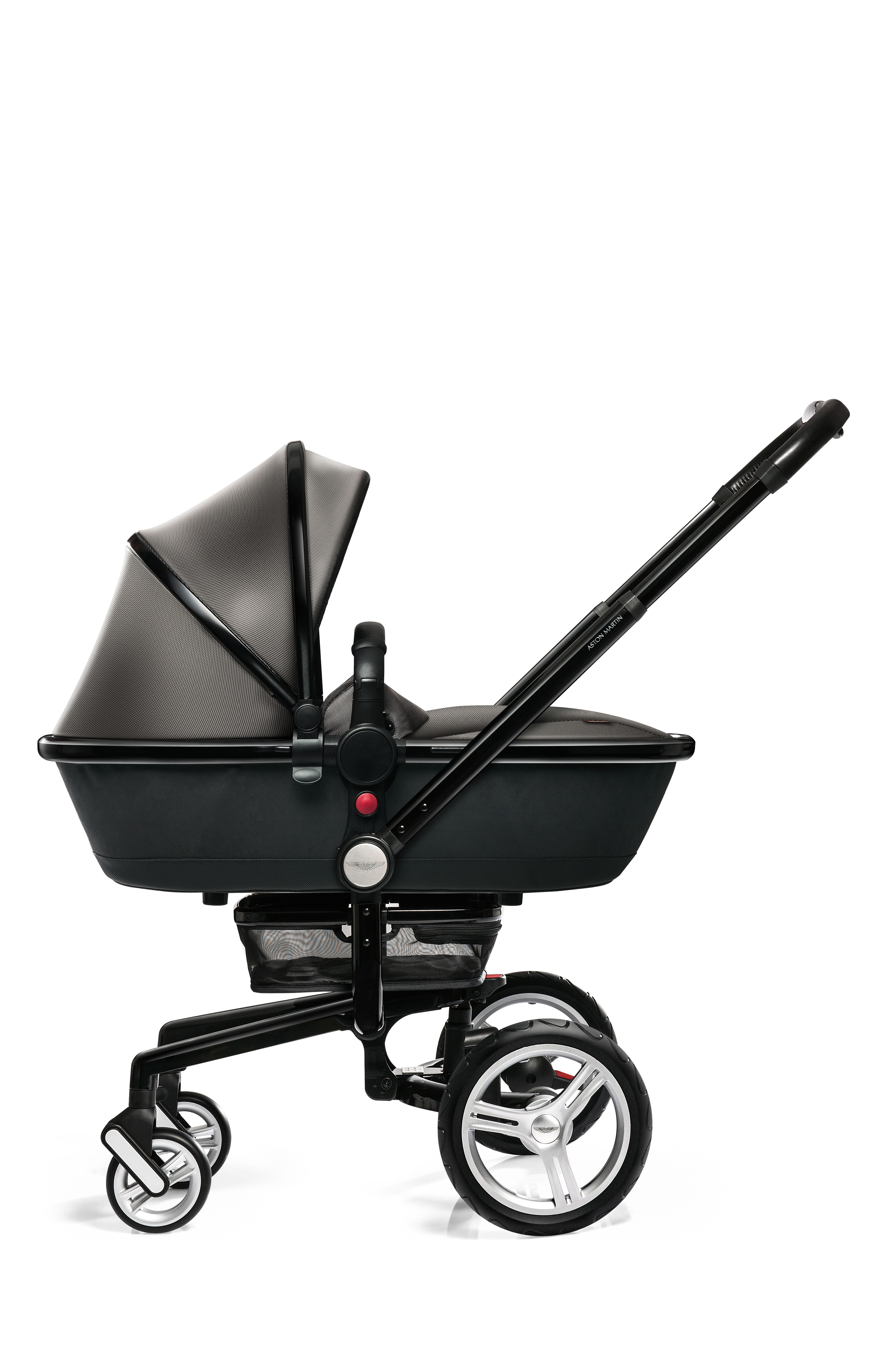 Silver Cross Page - Aston martin stroller