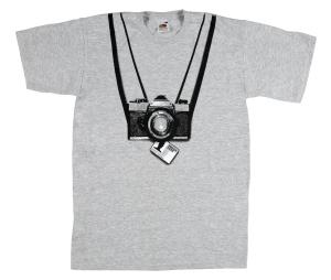 Camera press pass tee