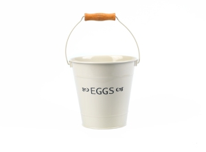Cream egg bucket