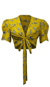1940s Wrap Top front tie www.20thcenturyfoxy.com