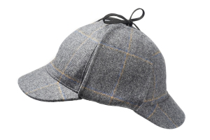 Tweed hats made for Museum of London from Tweed woven at Lovett Mill
