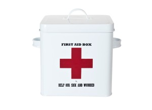 First Aid Tin £15 www.iwmshop.org.uk