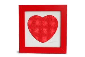 Personalised Framed Heart Clive Sefton Print £65.00 www.clivesefton.com