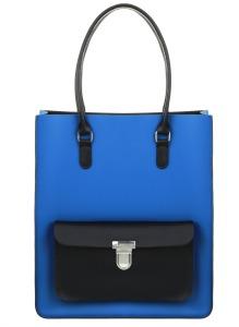 Pix monkeyTaylor Tote Royal Blue Black, £295 www.brixbailey.com 2