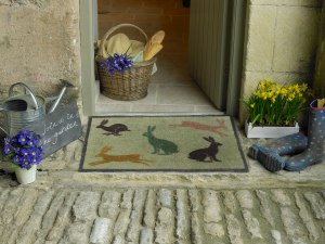 Hares - Country Living Collection - lifestyle 60x85cm ú49.95