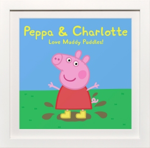 Peppa Pig Personalised, £34.99, www.artyougrewupwith.com 2