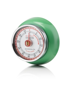 Green Retro Magnetic Kitchen Timer 2,£12,www.nrmshop.co.uk