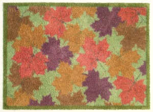 Maple Leaf 60x85cm, £49.95, runner 75x120cm £84.95, www.turtlemat.co.uk