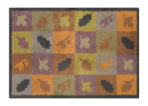 Autumn Squares and Leaves - Dee Hardwicke - 60x85cm ú49.95