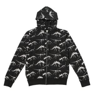 Dinosaur Bones Black Zip Up Hoodie, £55, www.nhmshop.co.uk