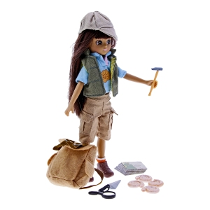 Fossil Hunter Lottie Doll, www.nhmshop.co.uk 4