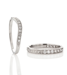 Vintage-style-diamond-wedding-rings www.london-victorian-ring.com