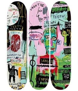 Basquiat In italian Skateboard £330 shop.tate.org.uk