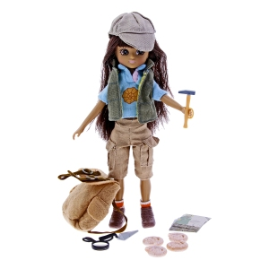 Fossil Hunter Lottie Doll, www.nhmshop.co.uk 3
