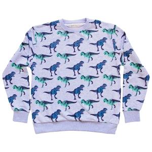 Men's Roar Print Grey Sweatshirt, £50, www.nhmshop.co.uk