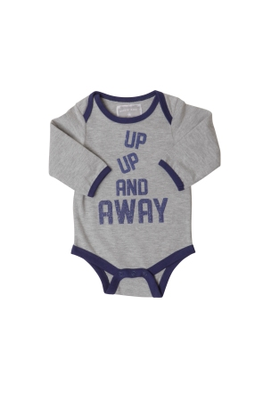 %22Up Up%22 Bodysuit, £9, www.rockinbaby.com