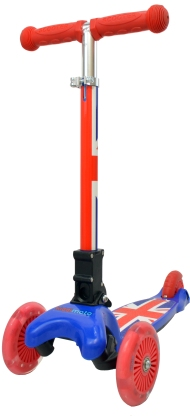Kiddimoto uZoom Union Jack RRP £49.99 www.kiddimoto.co.uk.