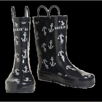 Rockin Baby Splashin Anchor Rainboots £12