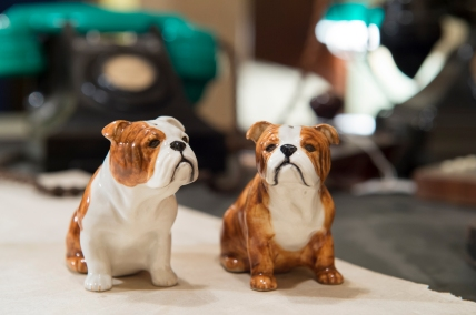 British Bulldog salt and pepper shakers,£25, www.iwmshop.org.uk