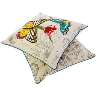 Embroidered Butterfly Cushion, £35.00 www.nhmshop.co.uk 2