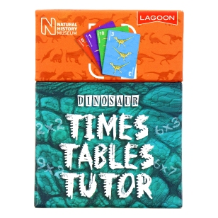 Museum dinosaur times tables tutor, £7.00 www.nhmshop.co.uk