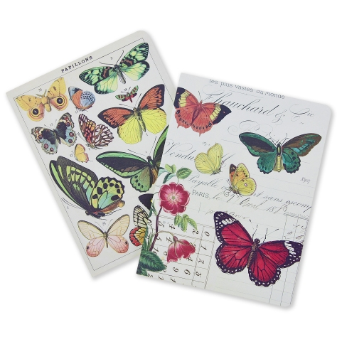 Set of 2 Butterfly Notebooks, £12.00 www.nhmshop.co.uk