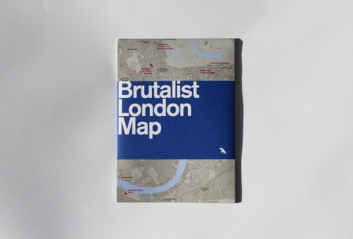 brutalist map