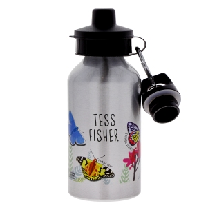Personalised butterfly water bottle, £12.00 www.nhmshop.co.uk