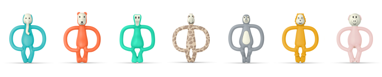 Matchstick Monkey Animal Teethers - £9.99 each - www.matchstickmonkey.com.png